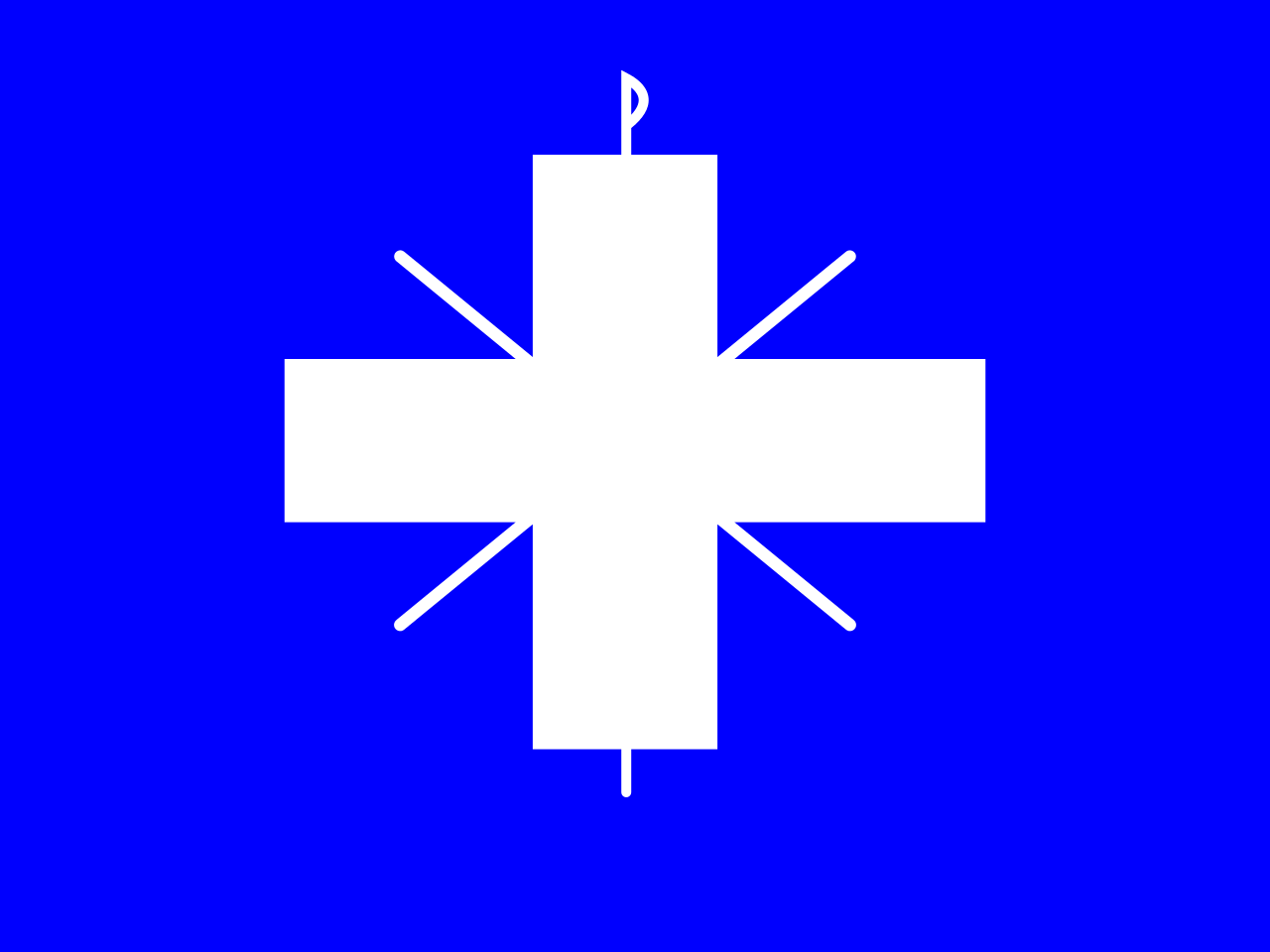 Flag of the Byzantines Under Nikephoros II Phokas