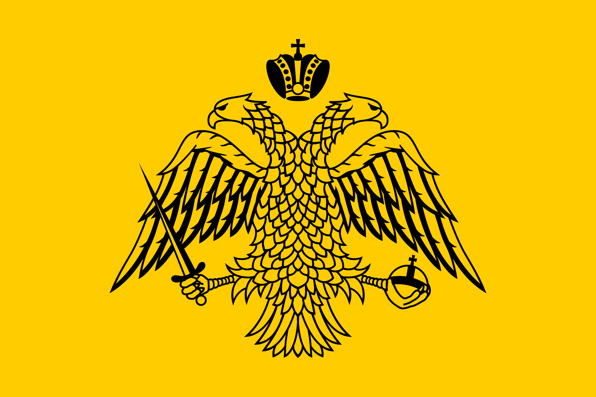 Imperial Flag of the Byzantines